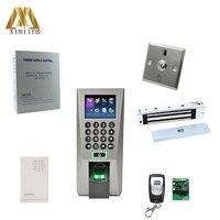 F18 комплект отпечатков пальцев доступа Управление TCP/IP Связь с 180 кг электромагнитный замок, двери дистанционного Управление, Питание