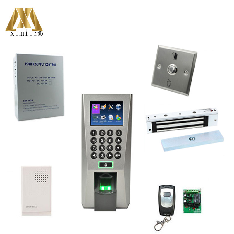 F18 Kit Fingerprint Access Control Tcp Ip Communication