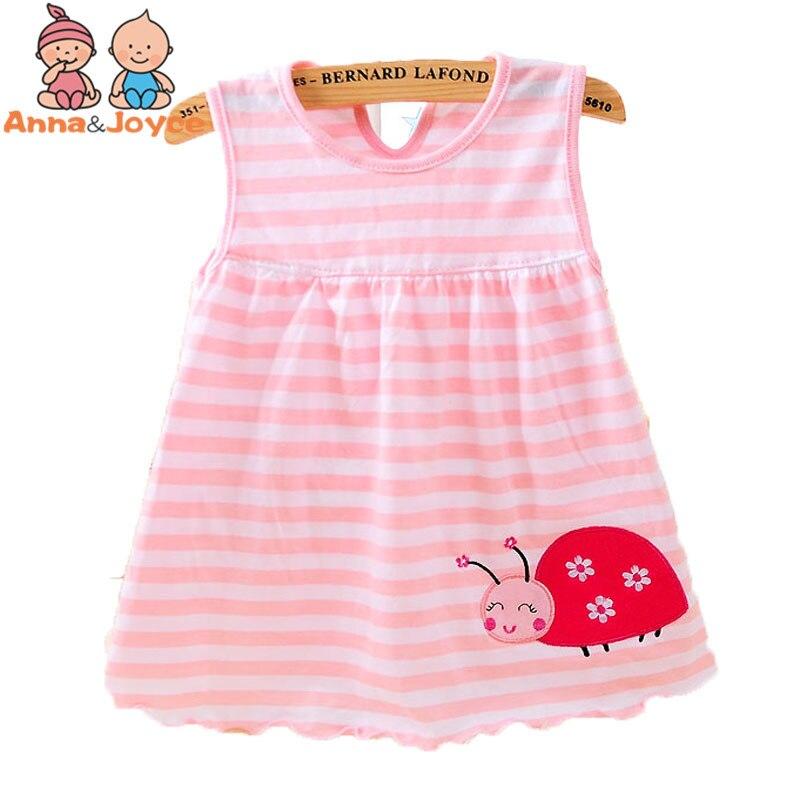 1 հատ Մանրածախ մանկական զգեստներ Արքայադուստր Աղջիկներ 0-2 տարեկան Բամբակյա հագուստ Հագուստը Ամառային հագուստ աղջկա համար