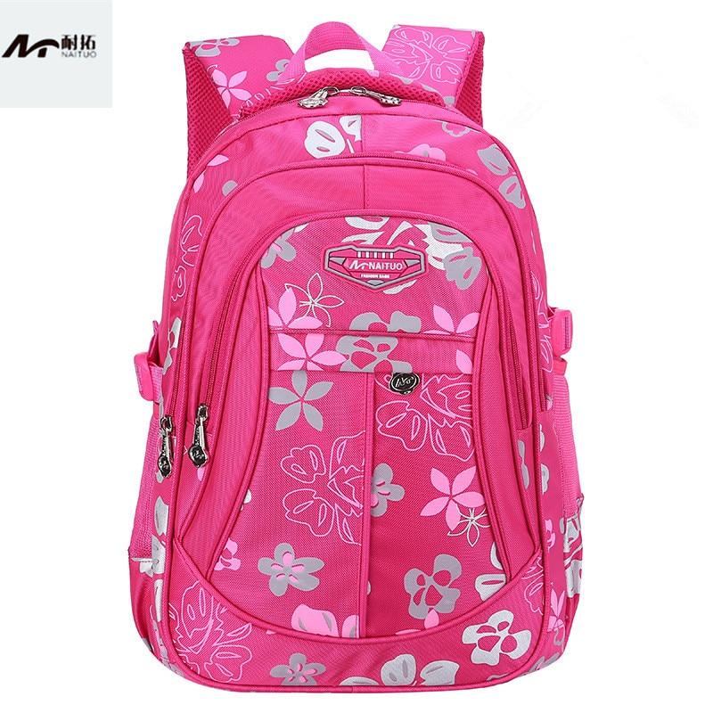 cute children school bags for girls printing elementary school backpack kids orthopedic schoolbag children backpacks sac enfant