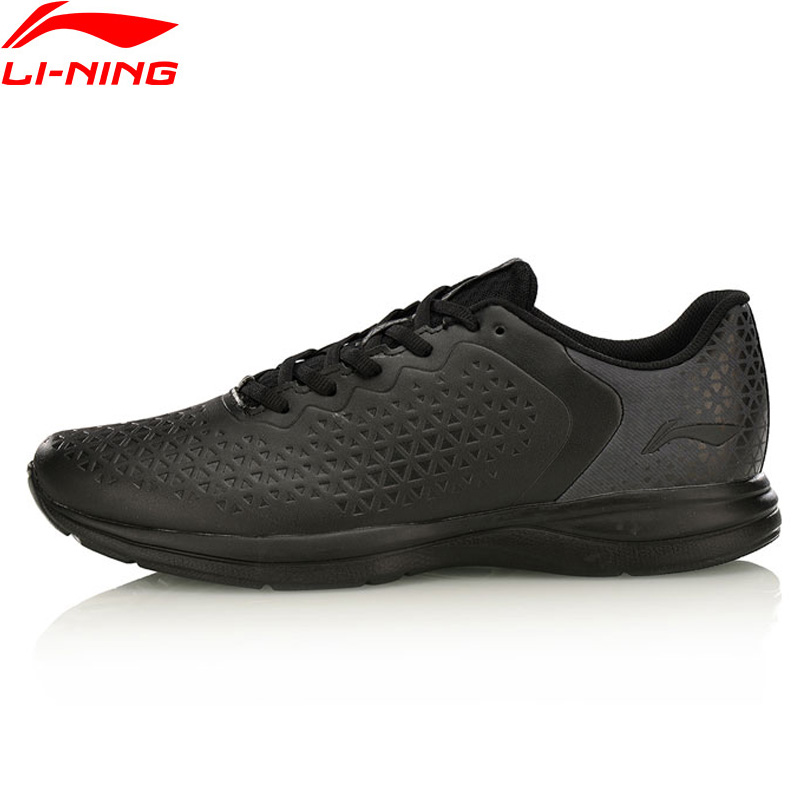 Li Ning Men EZ RUN Light Weight Running Shoes Anti Slippery LiNing Sports Shoes Breathable Sneakers