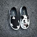O envio gratuito de sapatos de bebê Unissex meninos e meninas primeira walker animal confortável lona ocasional moda