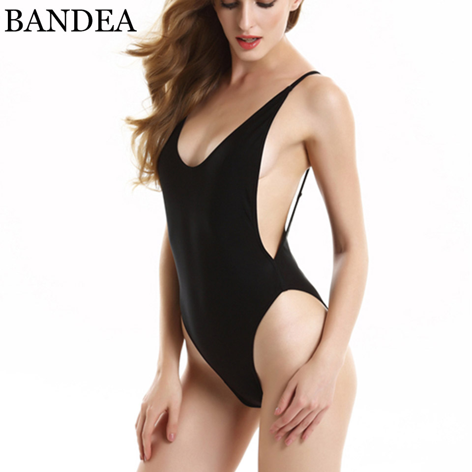 BANDEA Newest Colors One Piece Swimwear Set Sexy Bandage High Cut Swimsuit Women Bathing Suits Beach Swimsuit Set 2017 Monokini new sexy high cut backless bandage one piece swimsuit with skirt high neck patchwork swimwear striped blue beach bathing suits