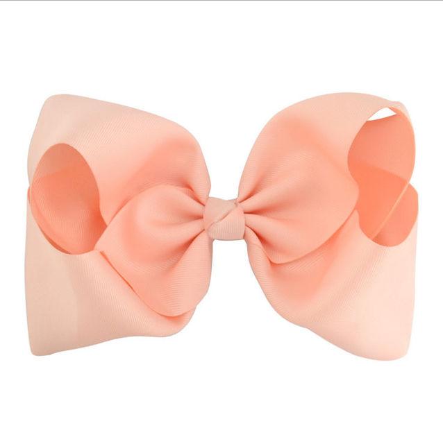 8 inch summer girls hair bows clips pin accessories for women ribbon bows hair barrettes children hairpins hairclip headdress