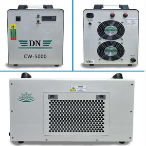 Image 2 - CW 5000 Industrial Water Chiller for Single 100W CO2 Laser Tube Cooling, 0.5HP, AC 1P 220V 50Hz