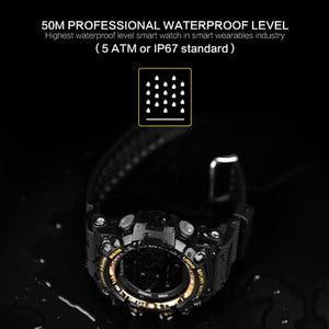 Image 2 - LOKMAT Smart Watch 2020 bluetooth digital men clock Pedometer smartwatch Women Waterproof IP68 Sport For ios Android Phone