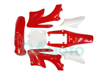 2-stroke for Apollo Orion Fairing plastic body kits fit pit dirt bike 49cc-100cc - Red