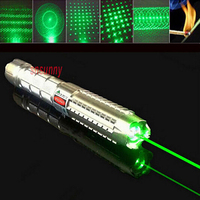 High Power Laser Pointer Pen Green 50000mw 532nm Military Zoomable Adjustable Focus Burning Match With 5