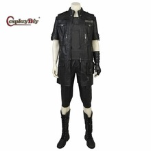 Cosplaydiy Custom Made Final Fantasy XV Noctis Lucis Caelum Cosplay Costume Adult Men Halloween Cosplay Outfit