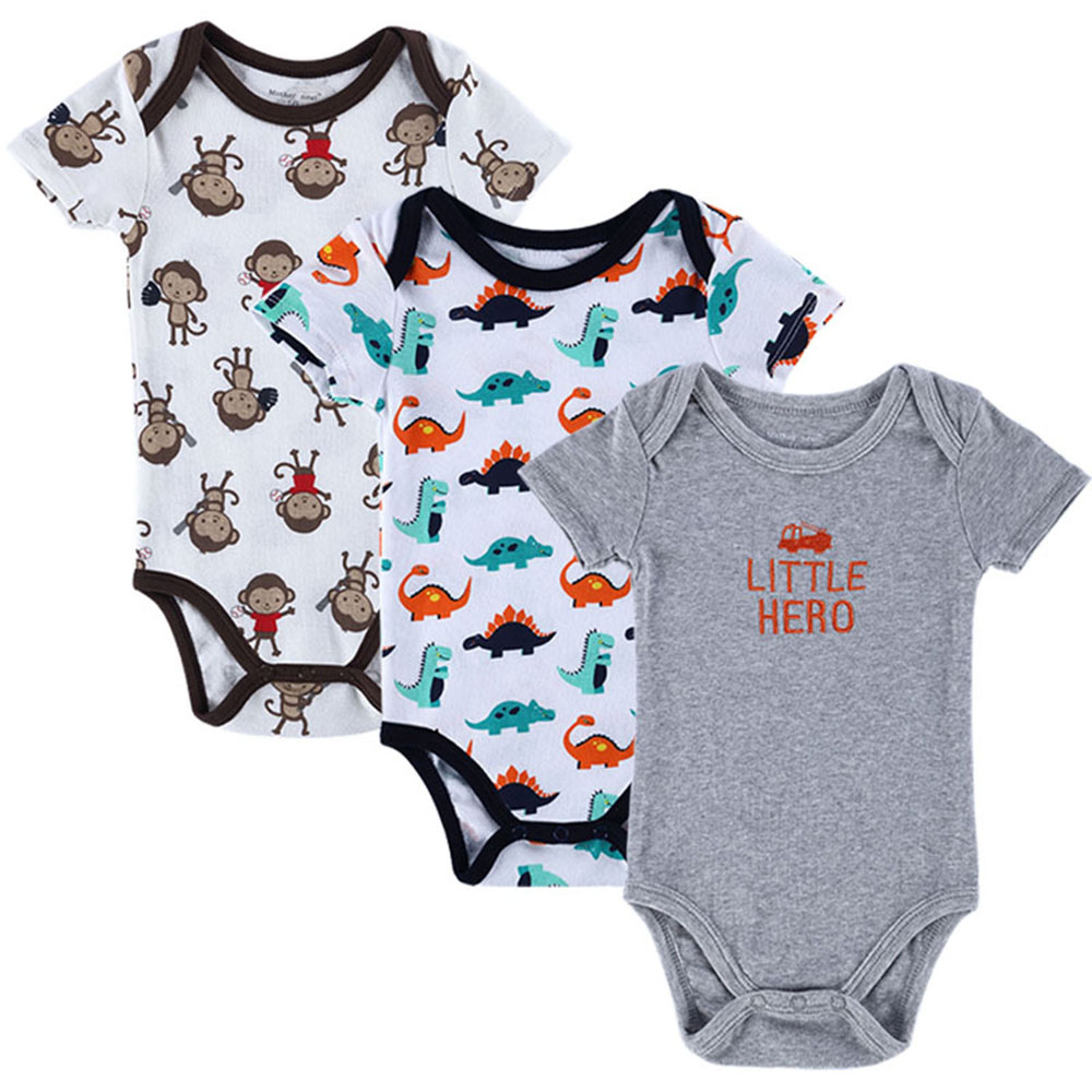 ad30a323fad9 Brand Baby Clothing Newborn Baby Boy Girls Romper Infant Clothes Short  Sleeve Baby Product Jumpsuit 0