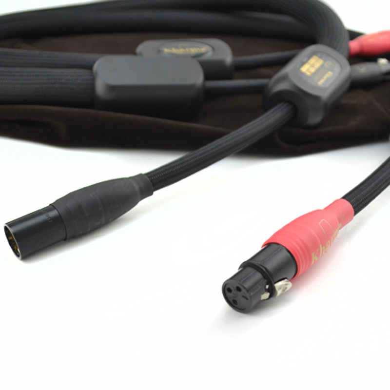 Free shippping pair Kharma KIC GR 1B Grand Reference Interconnect with XLR plugs connector    2
