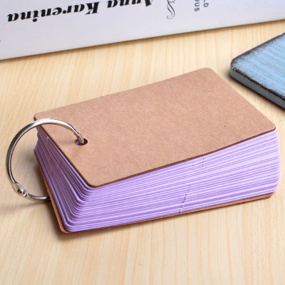 White And Purple A Ring Binder