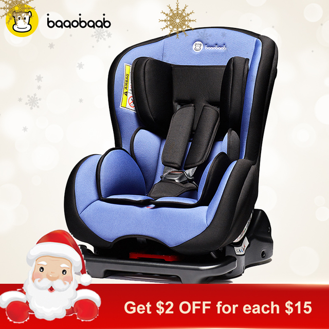 Baaobaab 720 Baby Convertible Child Safety Car Seat Sit Against