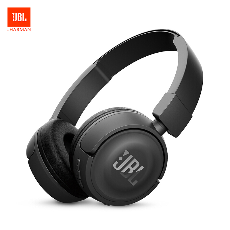 JBL T450BT Wireless Bluetooth Headphones Flat-foldable on-Ear Headset with Mic Noise Canceling Earphone Call & Music ControlsJBL T450BT Wireless Bluetooth Headphones Flat-foldable on-Ear Headset with Mic Noise Canceling Earphone Call & Music Controls