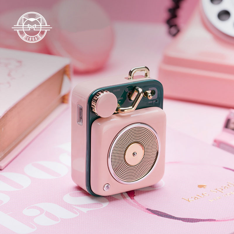 Consumer Electronics Xiaomi Cat King Atomic Mini Record Player B612 Bluetooth Intelligent Audio Portable Zinc Aluminum Shell Speaker In Stock D5 Smart Remote Control