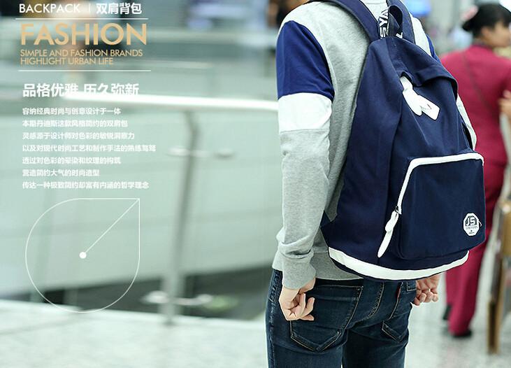 men fashion backpack3