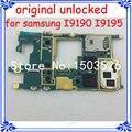 100% el trabajo de la ue versión i9195 placa principal original para samsung galaxy s4 mini i9195 desbloqueado placa base placa lógica de la función completa