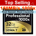 150MB/s Brand 1000x 32GB CF Card Flash Card 32G Capacity Memory Card CompactFlash Card For Canon Nikon Casio Sony Digital Camera