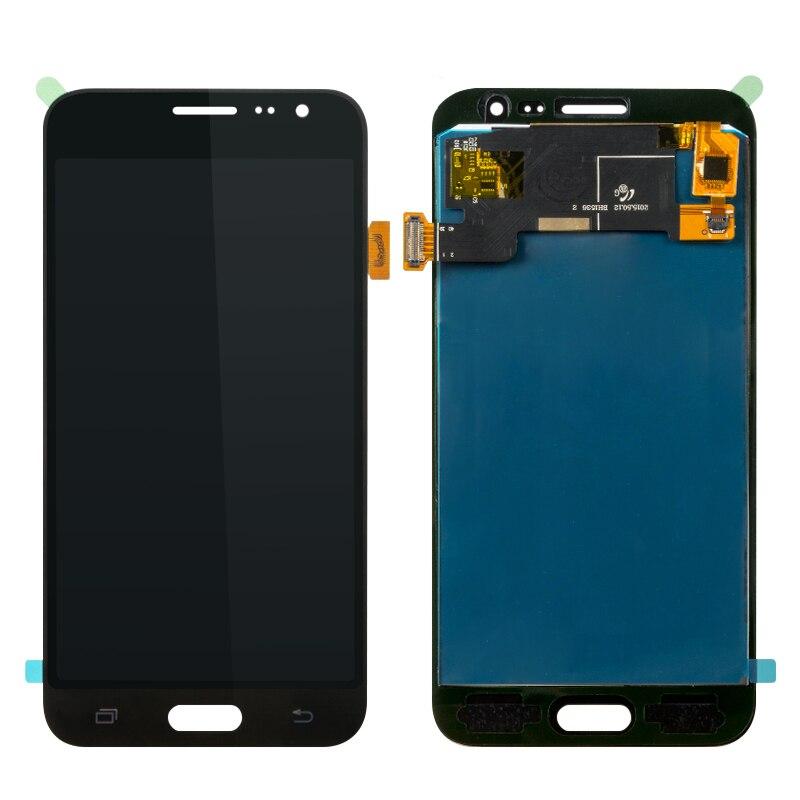 10Pcs/Lot Brightness Adjustable Display For Samsung Galaxy J3 J5 LCD Screen and Digitizer Assembly J3 2016/ J5 2015 LCD Lot AAA