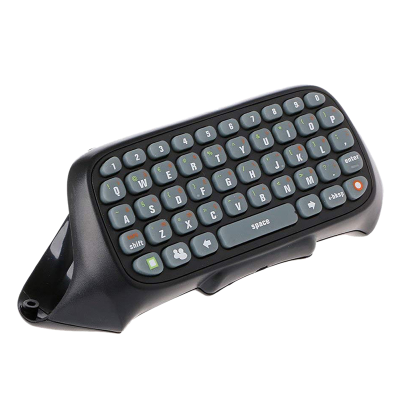 Wireless Controller Messenger Game Keyboard Keypad Chatpad for Xbox 360 White