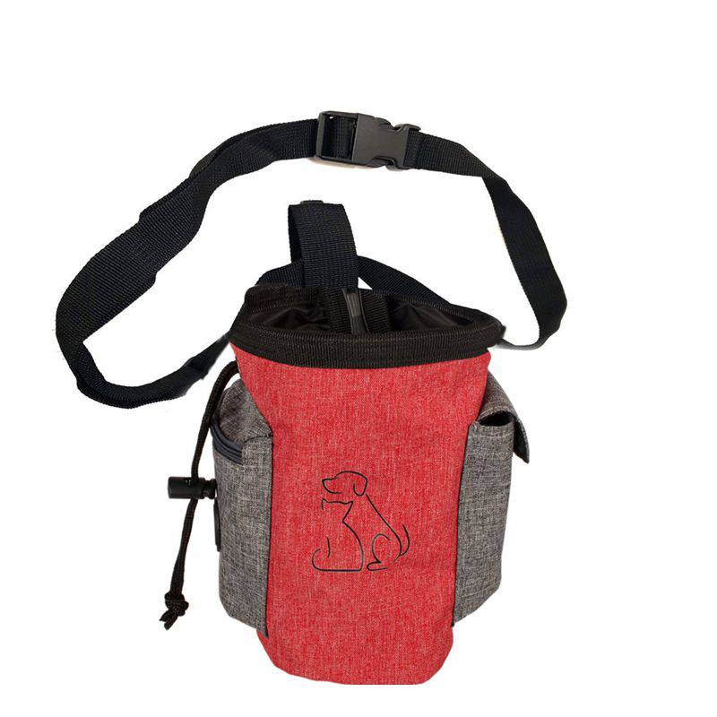 4dc04fbb6080 Pet Portable Dog Treat Pouch Dog Training Waist Bag Obedience Agility  Training Treat Bag Detachable Pocket