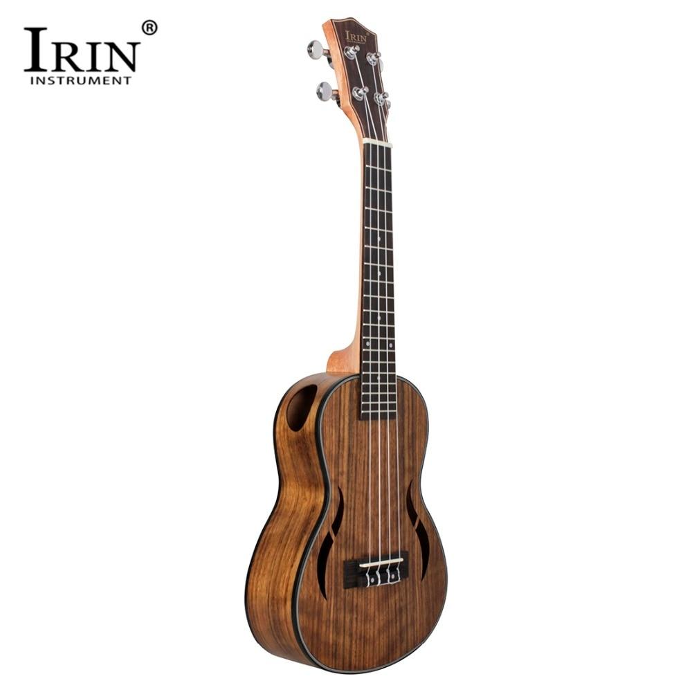 IRIN nouveau Style 26 pouces ukulélé hawaïen 4 cordes guitare noyer corps Nylon chaîne métal bouton Ukelele pour débutant