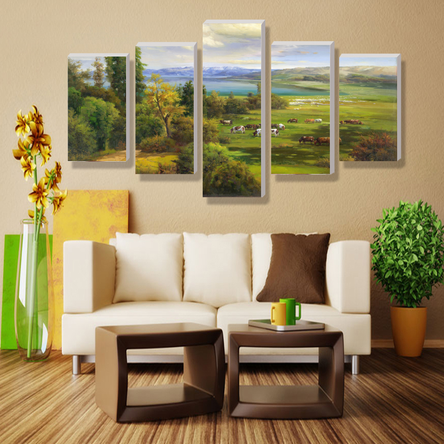 Cuadros modernos wall pictures for living room nature for Cuadros decorativos para comedor