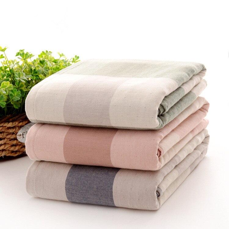 Travel Towel Japan: Japan Style Two Sided Bath Towel Size 140*70cm Cotton Yarn
