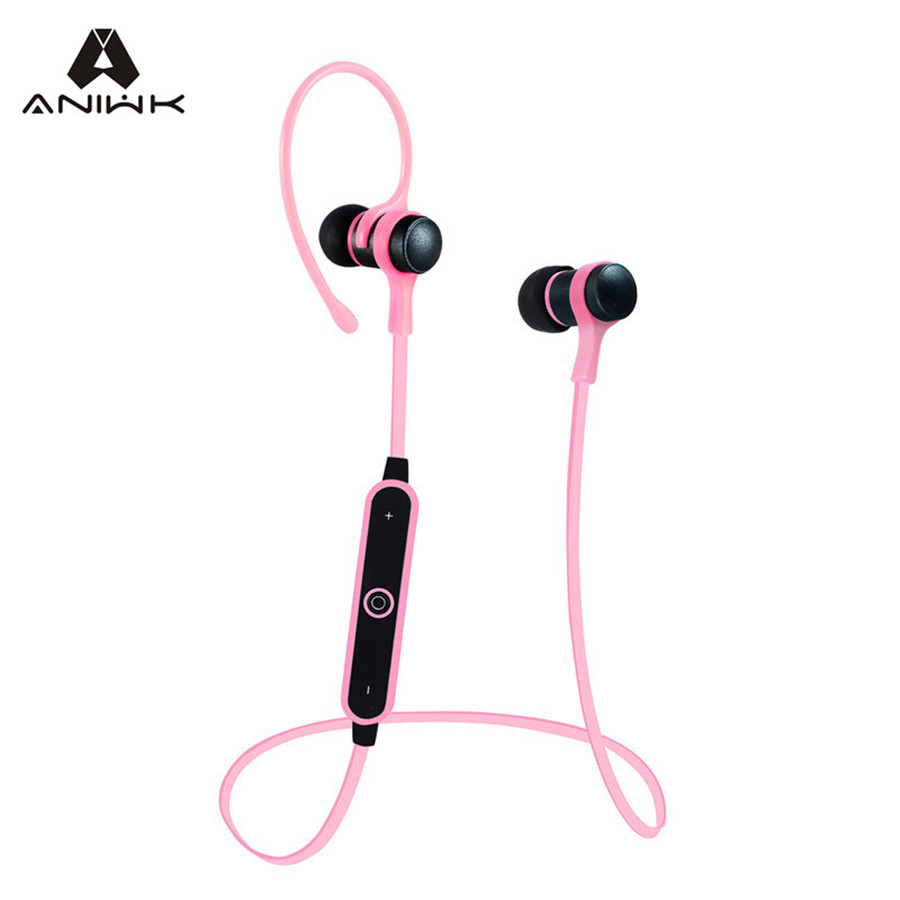 aniwk sport v4 1 bluetooth headphone wireless earphone bluetooth headset auriculares earpiece. Black Bedroom Furniture Sets. Home Design Ideas
