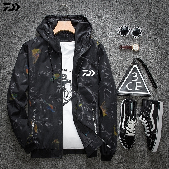 317ed9a7 DAIWA DAWA Fishing Clothes Summer Sunscreen Breathable Anti Mosquito Quick- Drying Outdoor Sports Anti-