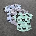 Retail Summer Fashion  boy kids clothing t-shirt cartoon batman pattern baby shirt brands short sleeve boy girl kid clothes top