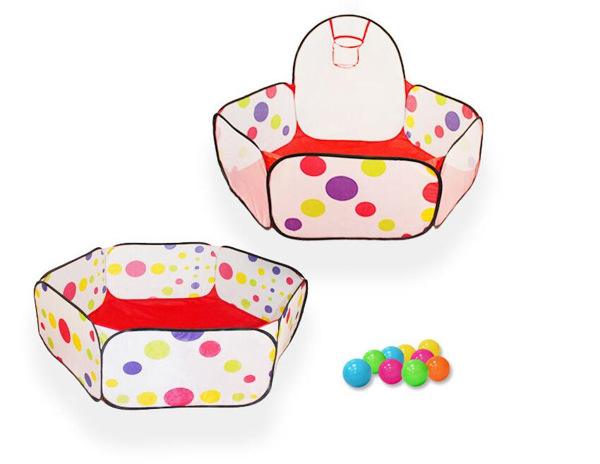 Children toy tent can shoot sea ball pool indoor and outdoor folding baby game house 0-1-2-3 year old baby toy