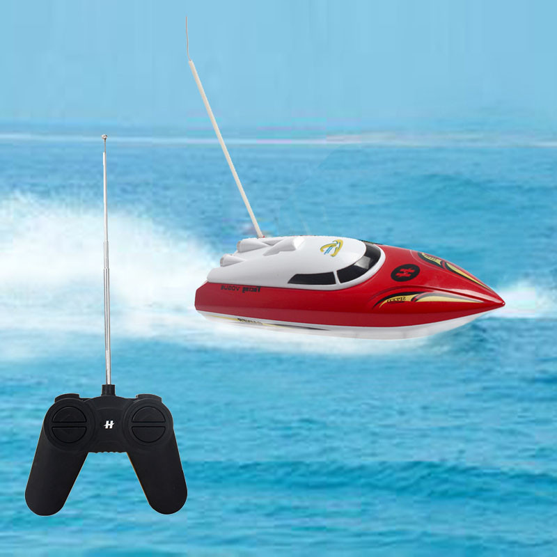 RC เรือของเล่นความเร็วสูงได้อย่างรวดเร็วเรือ B Rinquedos ของเล่นน้ำจำลองขนาดเรือเร็ววิทยุลบควบคุมยุงหัตถกรรมของเล่นเด็ก