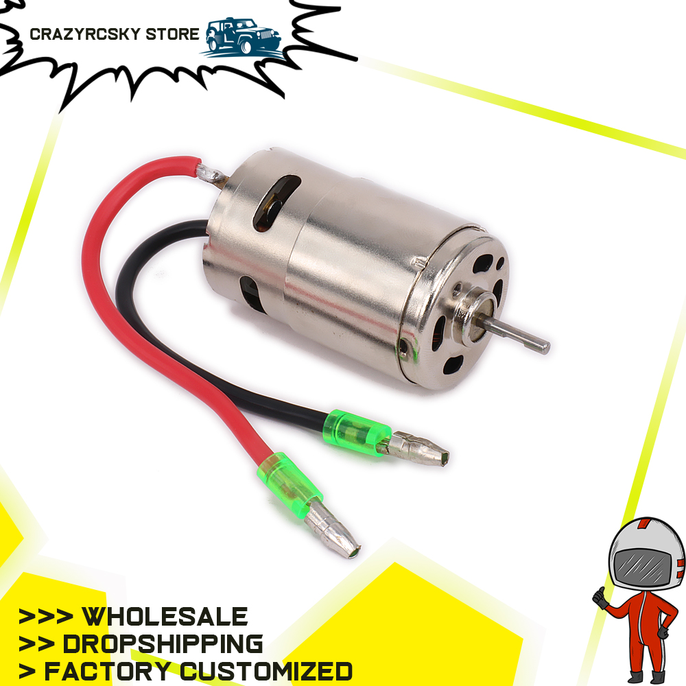 390motor w/fan for RC model car 1/16 1/18 Parts HSP Hi Speed Wltoys <font><b>Tamiya</b></font> Truck Buggy 03012 RC car Electric Brushed Motor A959 image