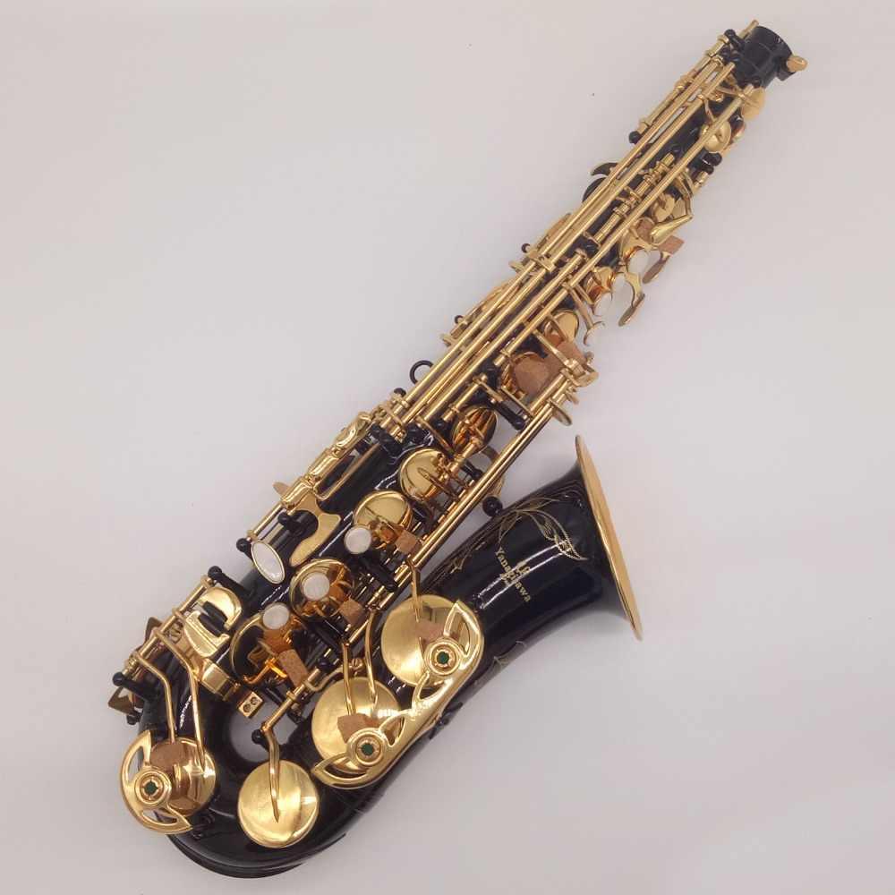 Yepyeni YANAGISAWA Alto Saksafon A-W010 A-991 Siyah Nikel Altın Sax Profesyonel Ağızlık Yamalar Pedleri Sazlık Viraj Boyun