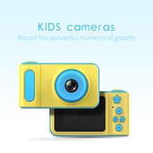 HD Mini 2 Inch Cartoon Cute Digital Camera Toddler Toys Children Kids Christmas