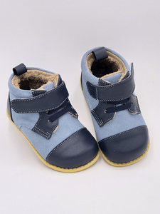Image 4 - Tipsie Toes 2020 New Winter Children Shoes Genuine Leather Martin Boots Kids Snow Girls Boys Rubber Fashion Sneakers