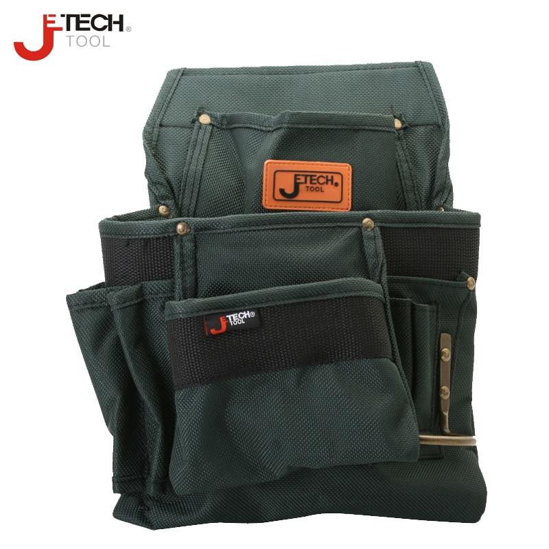 """""""Jetech"""" atsparus vandeniui atsparus juosmens technikos įrankių maišelių laikiklis vidutinio dydžio atsuktuvo veržliarakčio kombinuotas nešiojimo laikiklis BA-M3"""