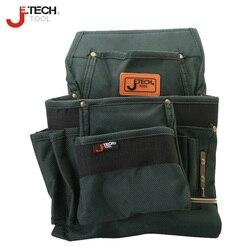 Jetech resistente al agua resistente a la cintura herramienta de técnico bolsa organizador de bolsa de tamaño mediano destornillador llave combo soporte de transporte BA-M3