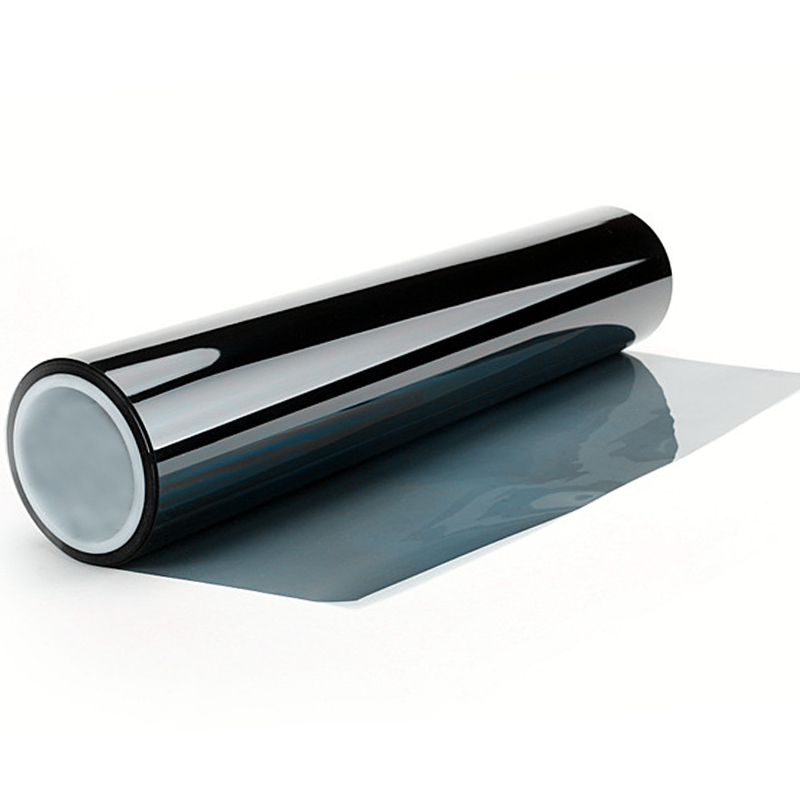 152 cm x 50 cm Nano seramik filmi açık mavi araba pencere tonu - Ev Dekoru - Fotoğraf 3