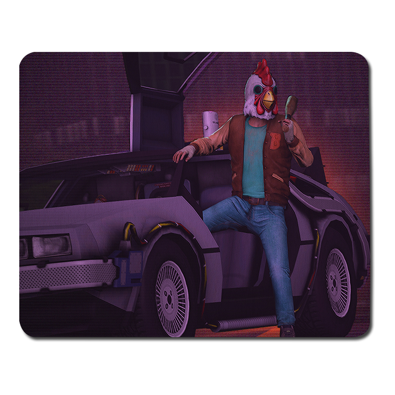 Hotline miami mouse pad game keyboard player mouse pad Notebook gamer Notebook gamer gaming laptop Computer mats
