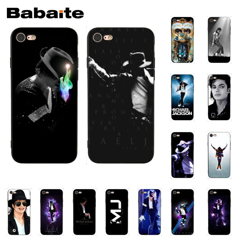 Cellphones & Telecommunications Maiyaca Michael Jackson Novelty Fundas For Iphone 4s Se 5c 5s 6 6s 7 8 Plus X Xr Xs Max For Samsung Black Soft Shell Phone Case