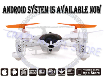 New Android Version!! WALKERA QR W100S FPV HD Camera UFO Controlled by DEVO Series Transmitter, IOS, Android ARTF - WiFi