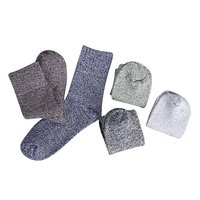Man Socks Cotton Thick Line Comfortable Man Business Socks Thicker Nation Wind Winter Men Socks 3pairs/Lot