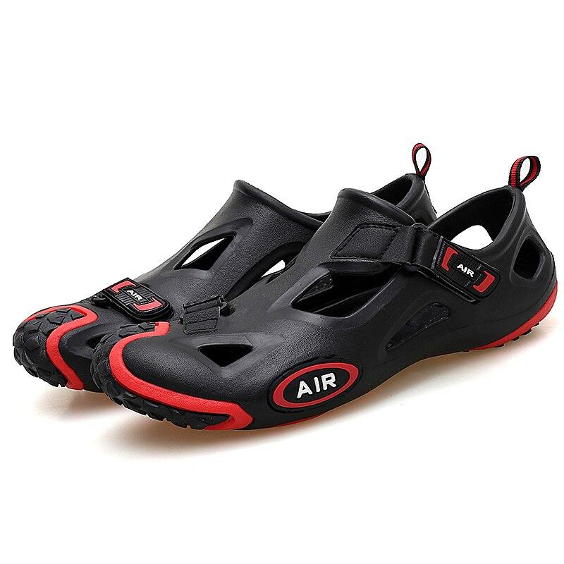 Женская водонепроницаемая дышащая быстросохнущая обувь для активного летнего спорта удобные резиновые сандалии для пляжа Мужская обувь больших размеров