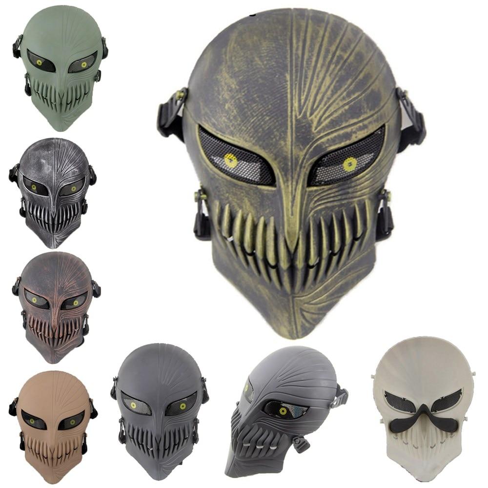 Free shipping Death Ichigo Kurosaki Anime Mask Bleach for Halloween Masquerade Cosplay Costumes CS War Game Tactical Props