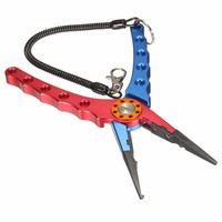 Newest Top Quality 1PC Fishing Tool Deluxe Aluminum Alloy Fishing Pliers Line Cutter Hook Remover Tackle