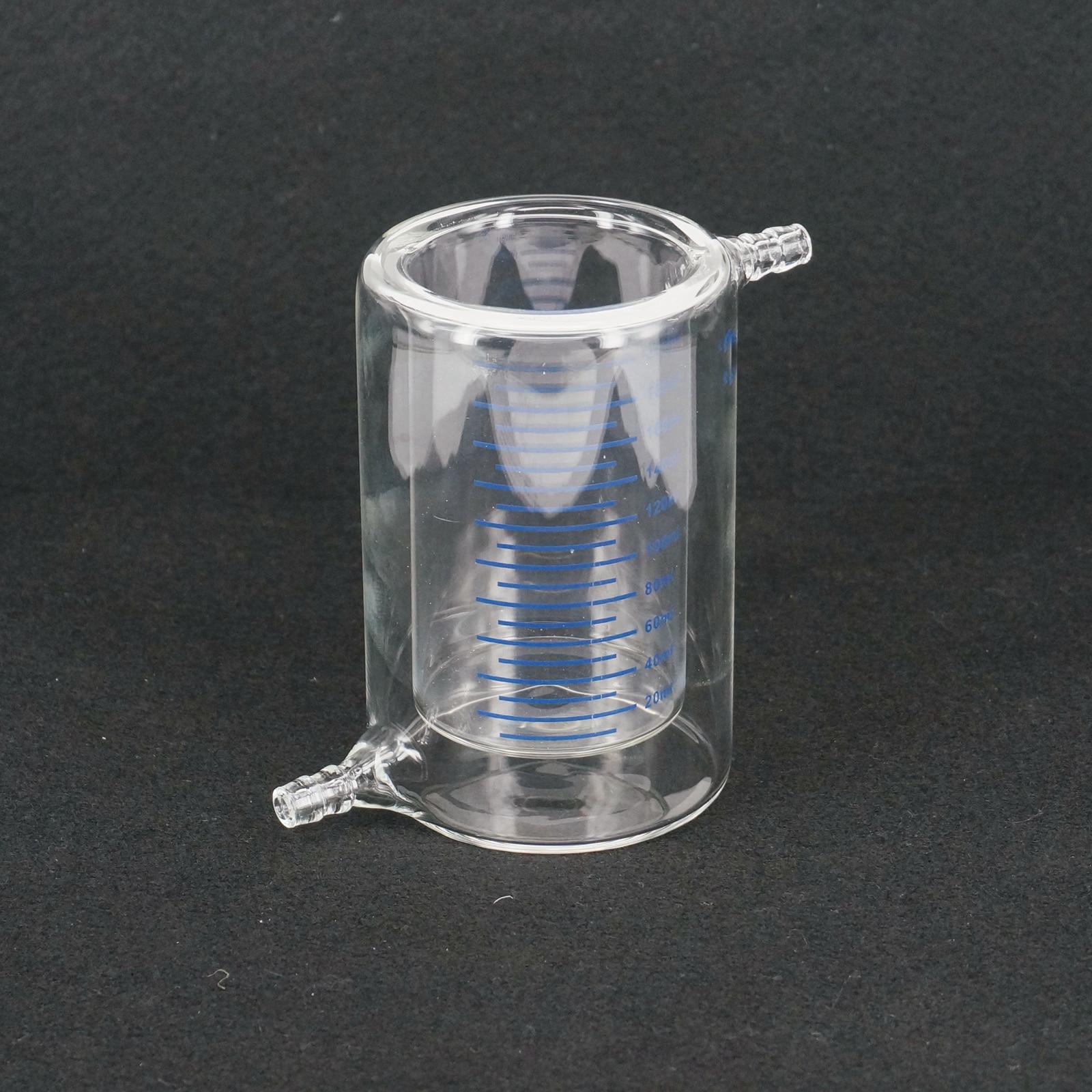 200 ml Rivestiti di Laboratorio Borosilicato Bicchiere di Vetro Doppio Strato Becher per Esperimento Fotocatalitico LIBERA LA NAVE200 ml Rivestiti di Laboratorio Borosilicato Bicchiere di Vetro Doppio Strato Becher per Esperimento Fotocatalitico LIBERA LA NAVE