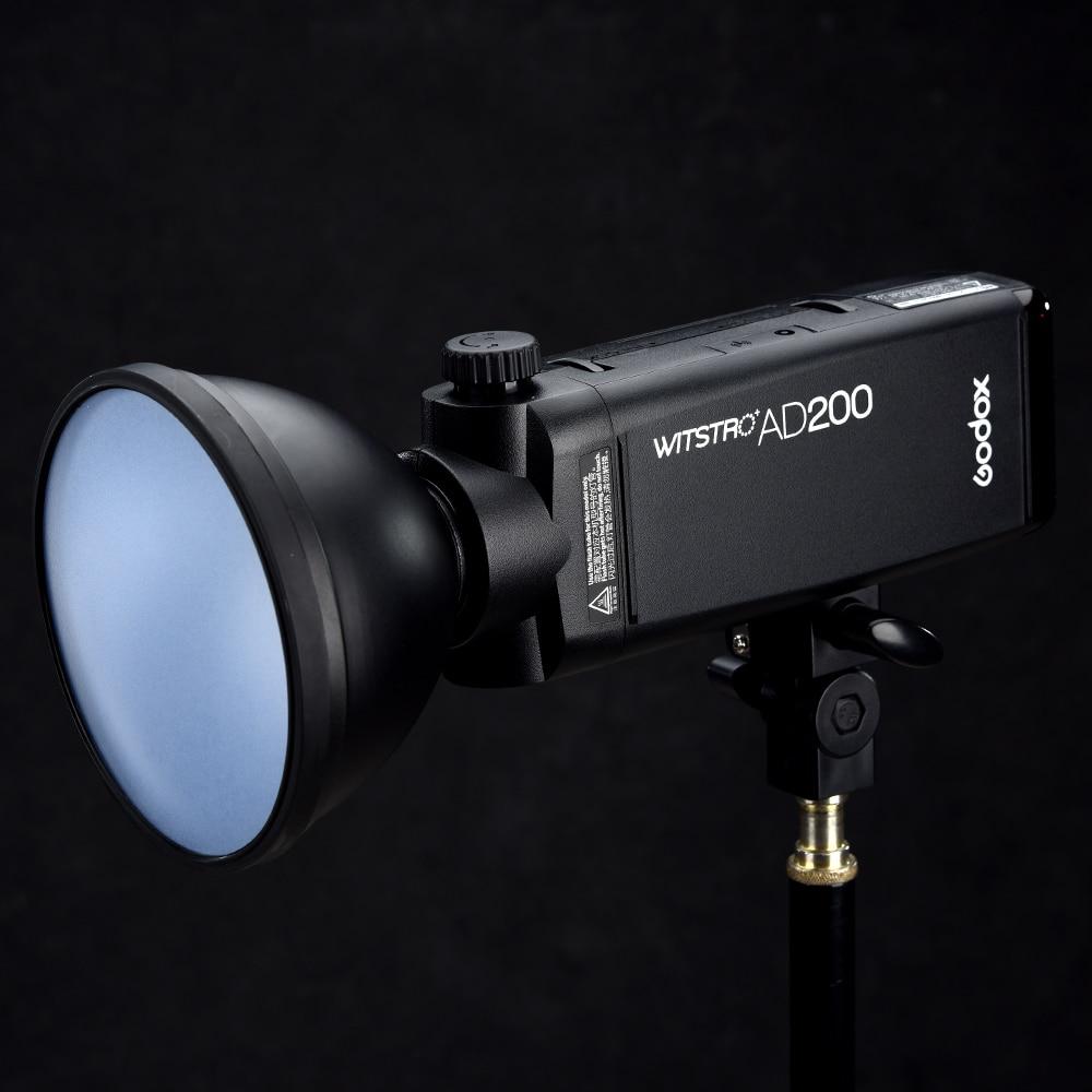 Godox AD200 Pocket Flash blesk Speedlite 200W s lithiovou baterií + - Videokamery a fotoaparáty - Fotografie 4