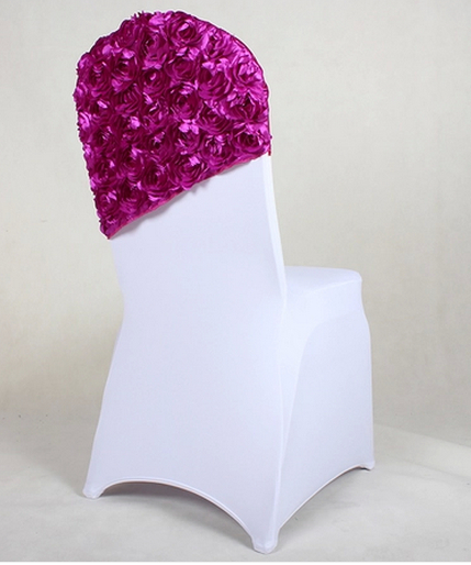Household Red Roses Chair Covers High End Wedding Back Multi Coloured Hotel Banquet Coverings Free Shipping In Cover From Home